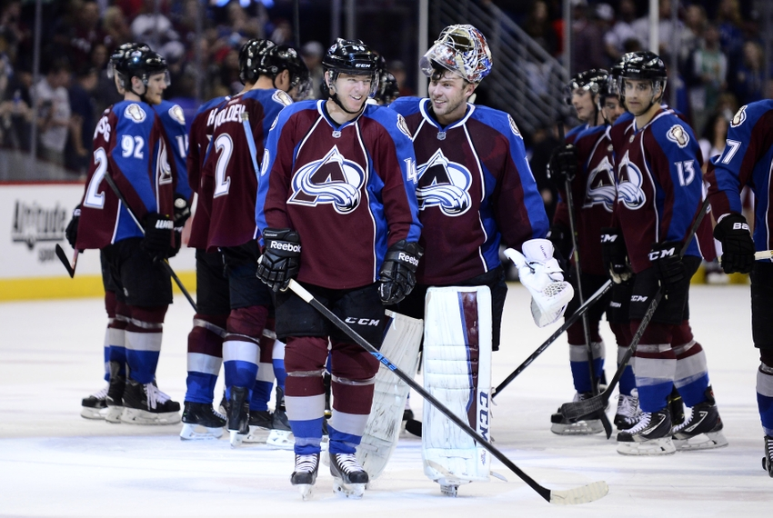 premium selection 3b14f da8bf Colorado Throwback Thursday: Evolution of the Avalanche Jersey